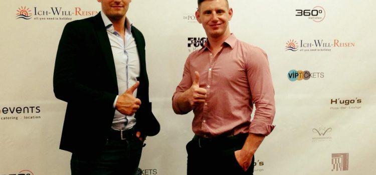 MPU-Berater auf dem roten Teppich bei der Charity Gala zugunsten Krebskranker